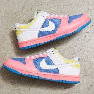 Nike Dunk Low 'Lava/Blueberry'